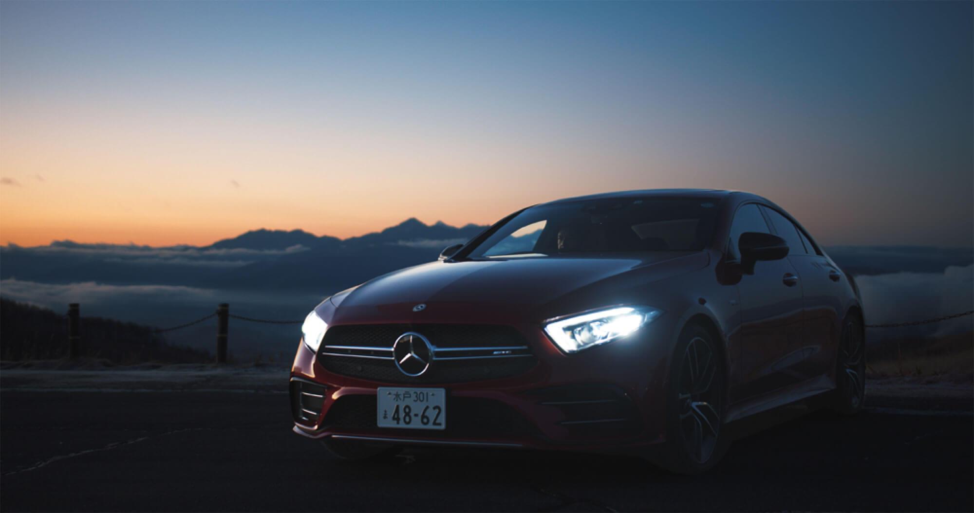 Mercedes-AMG CLS 53 4MATIC+のWEB/SNS用コンテンツの撮影
